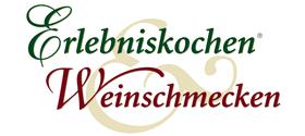 Logo Erlebniskochen und Weinschmecken Partner vom Wildpark Schwarze Berge
