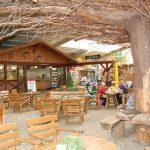 Imbiss in der Kunsthandwerkerhalle im Wildpark Schwarze Berge