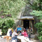 Koehlerhuette mit möglichkeit zum Selbergrillen im Wildpark Schwarze Berge