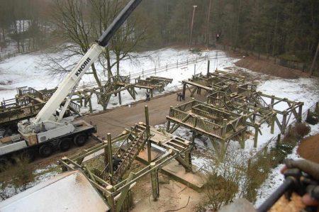 Abriss Elbblickturm Wildpark Schwarze Berge (16 von 17)
