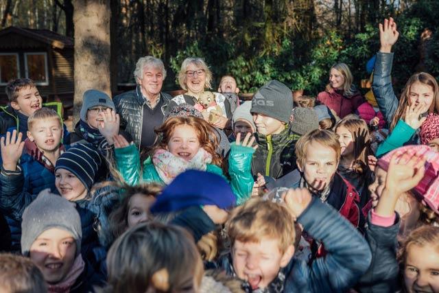 Lesung von Rolf-Zuckoswski im Wildpark Schwarze Berge, Lesung, Kinder, Kinderlieder