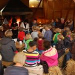 Lesung der Theaterfreunde im Wildpark Schwarze Berge, Herbstzauber