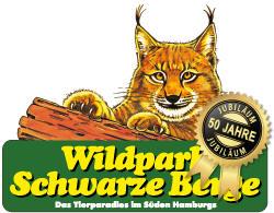 Logo Wildpark Schwarze Berge Jubiläum