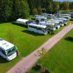 Wildpark Camping mit Wohnmobilen